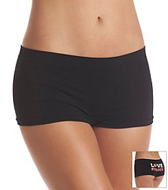 B intimates Black Lovestruck Seamless Cheeky Boyshorts