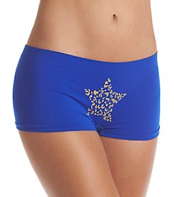 B intimates Blue Star Seamless Cheeky Boyshorts