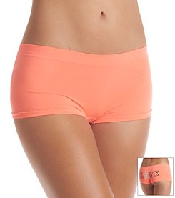B intimates Coral Love Skull Seamless Cheeky Boyshorts