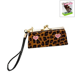 Betsey Johnson® Boxed Leopard Pet Waste Disposal Bag Holder