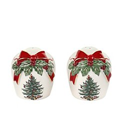 Spode® Christmas Tree Ribbons Salt And Pepper Set