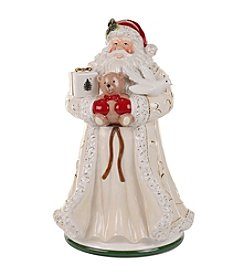 Spode® Christmas Tree Gold Figural Santa Cookie Jar