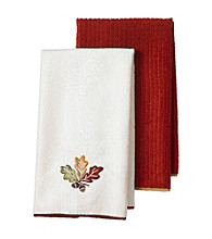 Ritz Nature Leaf 2 Pack Kitchen Towels