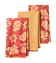 Ritz™ Nature Leaf Microfiber 3pc Kitchen Towels