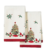 Lenox® Holiday Tree 2-Pk. Fingertip Towels