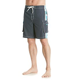 Paradise Collection® Men's Side Stripe Swim Shorts