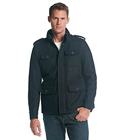 Tommy Hilfiger® Men's Wool 4 Pocket Military Coat