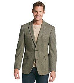 Tommy Hilfiger® Men's Olive Barleycorn Sportcoat