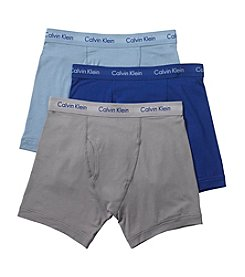 Calvin Klein Men's Cotton Stretch 3-Pack Boxer Briefs