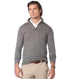 Chaps® Men's Long Sleeve Quarter Zip Knit Shirt