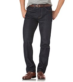Chaps® Men's 5 Pocket Traditional Waist Cuffed Jeans