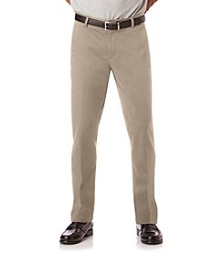 Chaps® Men's Cotton Span Twill Flat Front Stretch Waistband Pants