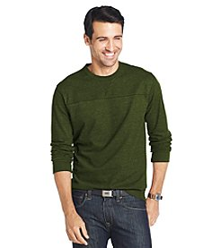 Bass® Men's Carbonized Jersey Crew Sweater
