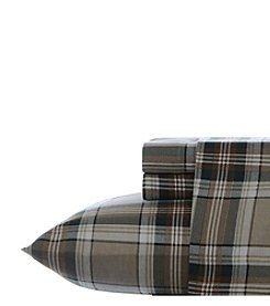 Eddie Bauer® Edgewood Plaid Flannel Sheet Set