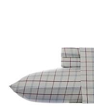 Eddie Bauer® Windowpane Flannel Sheet Set