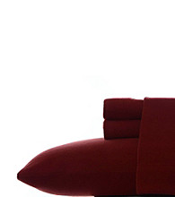 Eddie Bauer® Solid Fleece Sheet Set