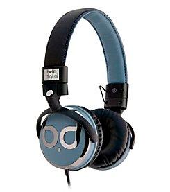 Bello Over-the-Head Dark Chrome Headphones