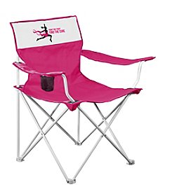 Logo Chair Breast Cancer Awareness Canvas Chair
