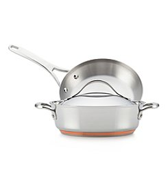 Anolon® Nouvelle Copper 3-pc. Stainless Steel Cookware Set + GET THIS FREE! see offer details