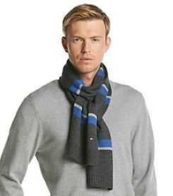 Tommy Hilfiger® Men's Horizontal Stripe Scarf