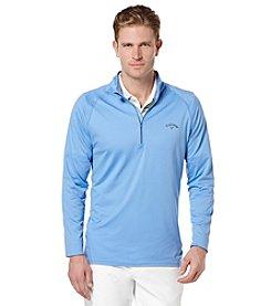 Callaway® Men's Long Sleeve Quarter Zip Mock Pullover