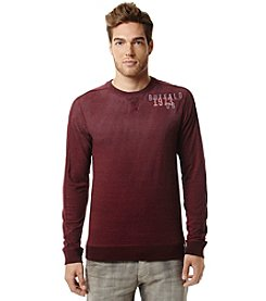 Buffalo by David Bitton Men's Stamp Jersey Crewneck Long Sleeve Tee
