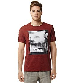 Buffalo by David Bitton Men's Overdye Exploded Graphic Tee