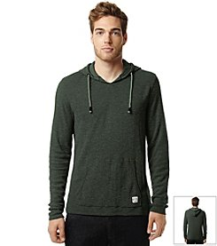 Buffalo by David Bitton Men's Waffle Knit Long Sleeve Hoodie