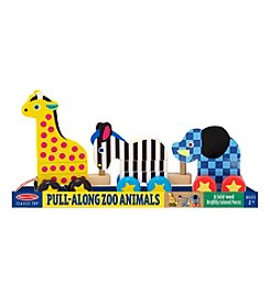 Melissa & Doug® Pull-Along Zoo Animals