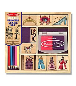 Melissa & Doug® Wooden Princess Stamp Set