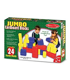 Melissa & Doug® 24-Piece Jumbo Cardboard Blocks