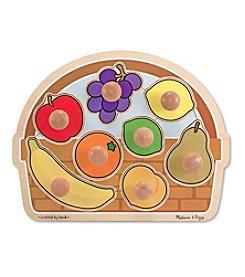 Melissa & Doug® Large Jumbo Knob Fruit Basket