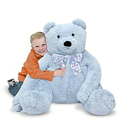 Melissa & Doug® Jumbo Blue Teddy Bear