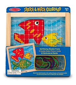 Melissa & Doug® Stretch and Match Geoboard