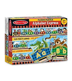 Melissa & Doug® 27-Piece Alphabet Express Floor Puzzle
