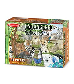 Melissa & Doug® 48-Piece Endangered Species Floor Puzzle