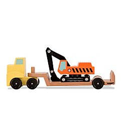 Melissa & Doug® Trailer and Excavator