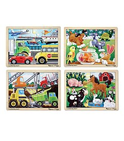 Melissa & Doug® Jigsaw Puzzle Bundle