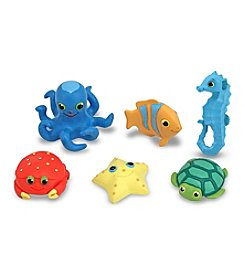 Melissa & Doug® Seaside Sidekicks Creature Set