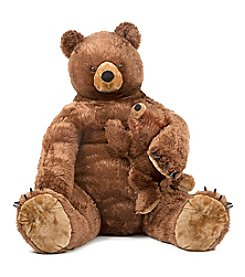 Melissa & Doug® Brown Bear and Cub Plush