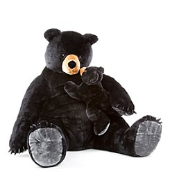 Melissa & Doug® Black Bear and Cub Plush