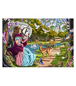 Melissa & Doug® 100-Piece Princess Pathway Floor Puzzle