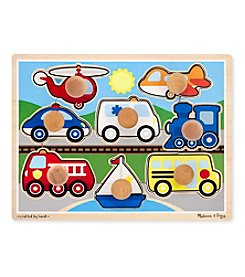 Melissa & Doug® Vehicles Jumbo Knob Puzzle