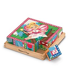 Melissa & Doug® Princess and Fairy Cube Puzzle
