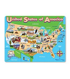 Melissa & Doug® USA Map Jigsaw Puzzle