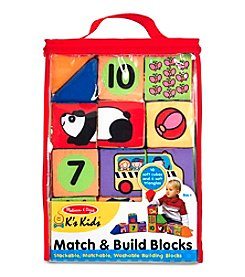Melissa & Doug® Match and Build Blocks