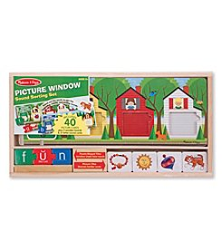 Melissa & Doug® Picture Window Sound Sorting Set