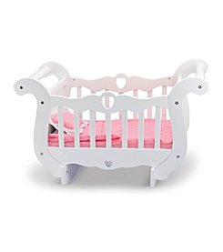 Melissa & Doug® Wooden Doll Crib