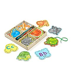Melissa & Doug® Alphabet Lacing Cards