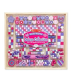 Melissa & Doug® Deluxe Collection Wooden Bead Set